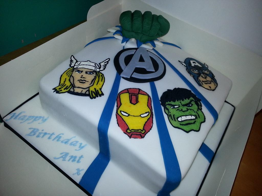 Marvel Cake Pan