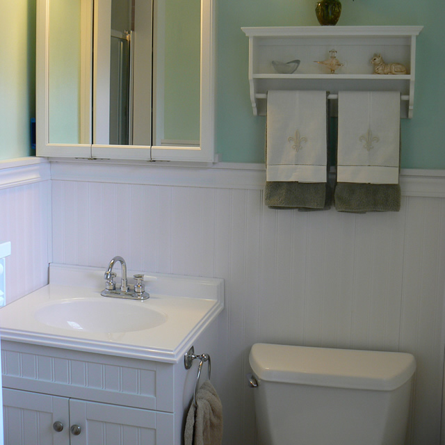 pvc beadboard bathroom pvc beadboard is used to cover pink