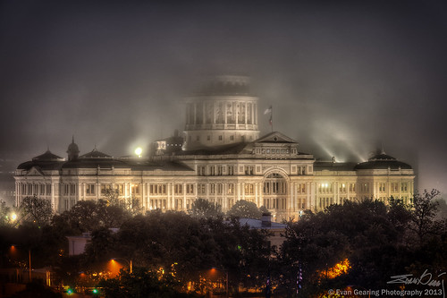 Misty Texas Capitol | by Evan Gearing (Evan's Expo)