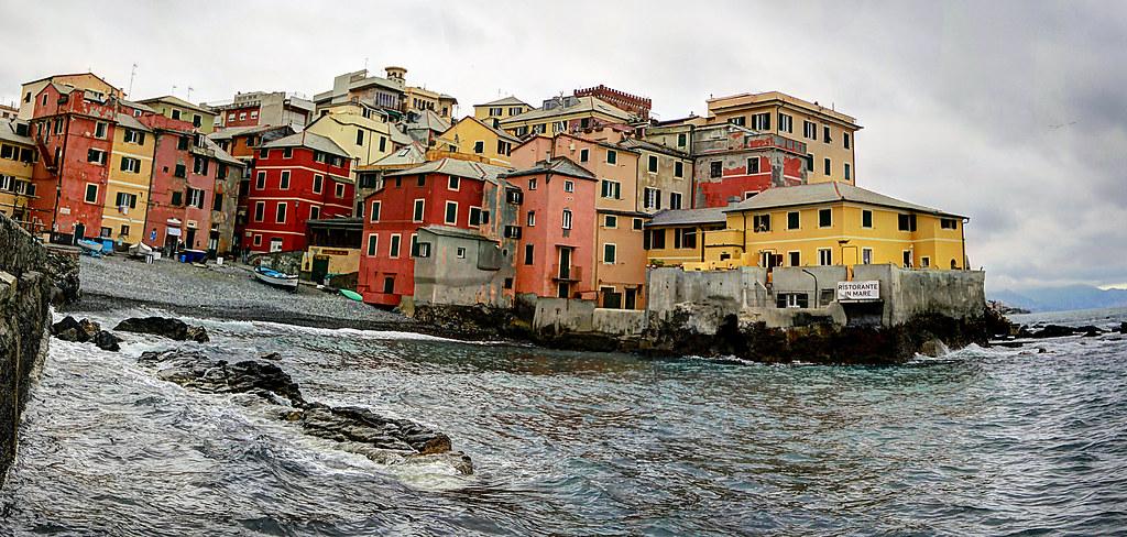 Genova from life of Ernest Hemingway
