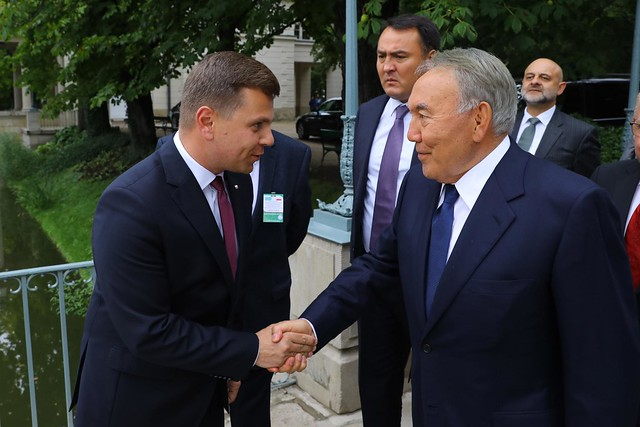 Wizyta prezydenta Kazachstanu