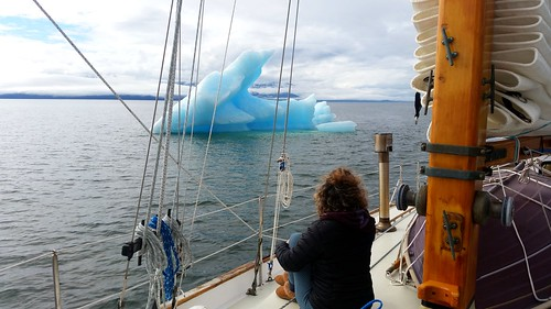 Watching the Ice Stephens Passage | by Sailing P & G