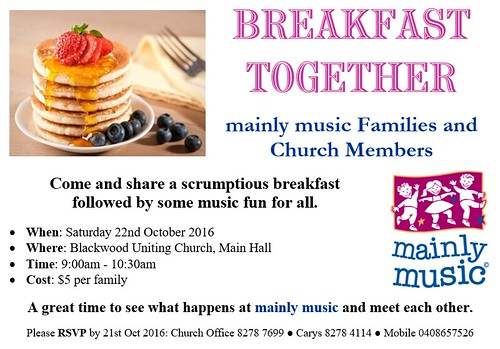 mainly music Breakfast Together