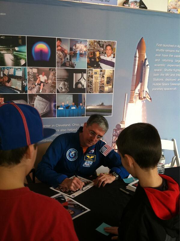 Ohio Astronaut Don Thomas | Thomas explained that the new ...