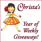Chrita's Year of Weekly Giveaways by ChristaQuilts