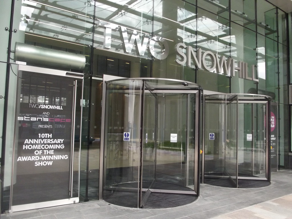 Two Snowhill Revolving Doors After My Visit To 2