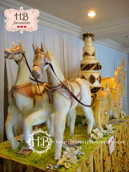 Unique Batik Chariot Wedding Cake 2 Hungry Bridezilla Flickr