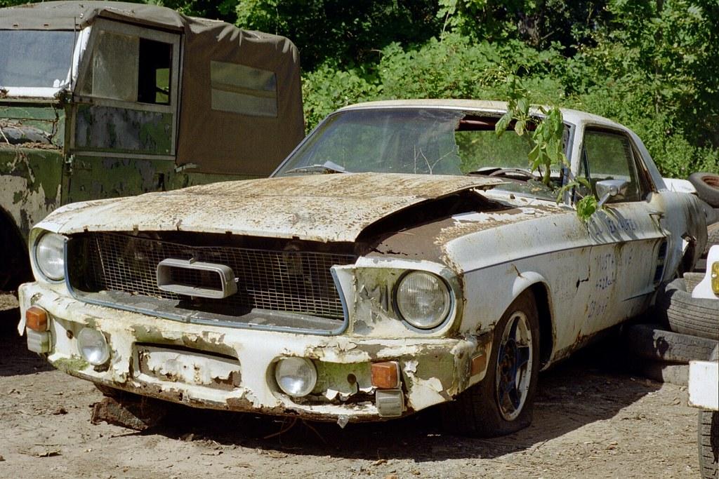 Ford Mustang 1967 Autofriedhof Kaufdorf Daniel V8dub