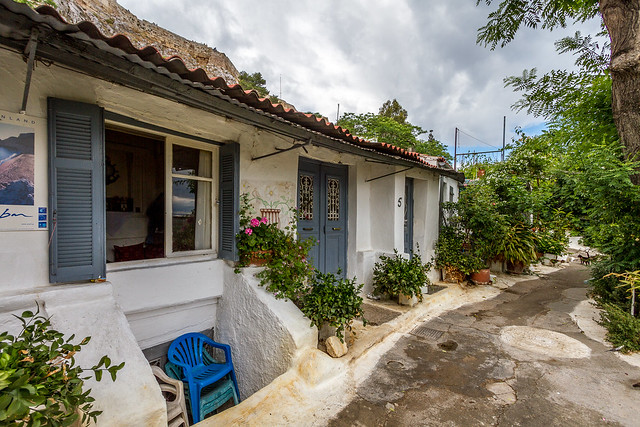 Anafiotika - Athens - Greece