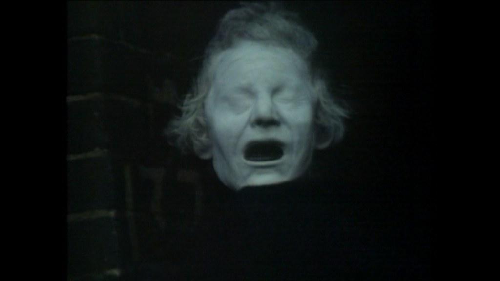 The Signalman | screenshot from 1976 BBC adaptation of Charl ...