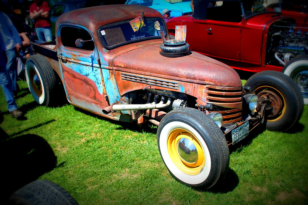 Rhinebeck Car Show May Photos