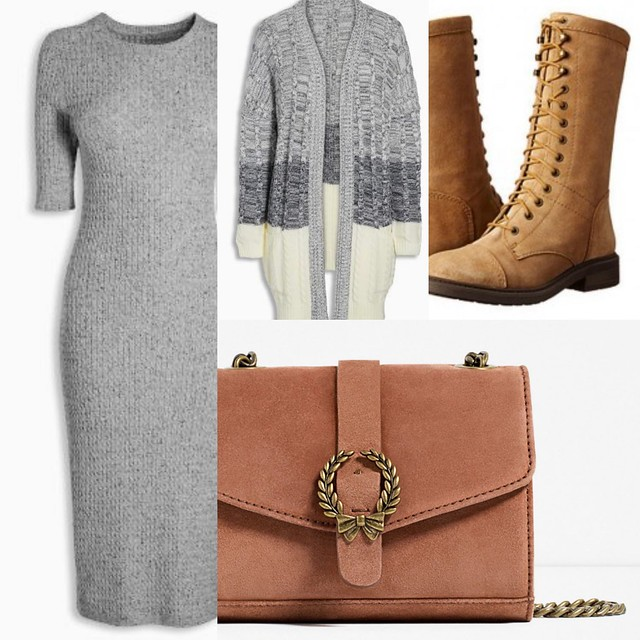 AW2016 Outfit mix up weekend lace up boots and suede