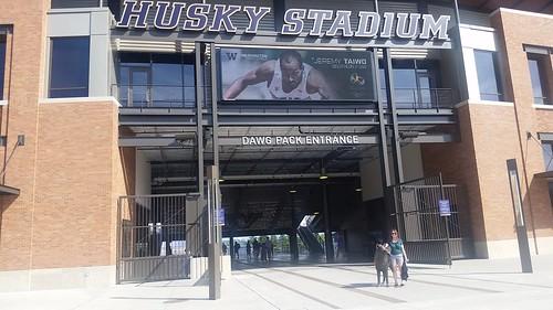 Husky Stadium, Dawg Pack Entrance, University of Washington