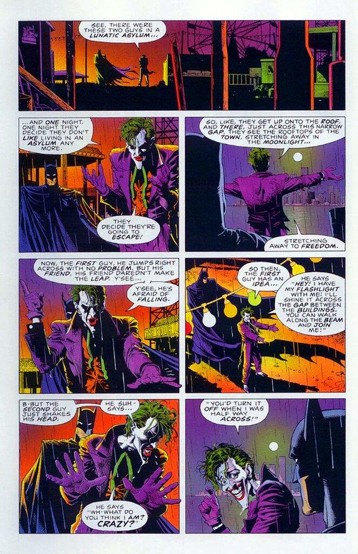 Batman - The Killing Joke - Comic Strip 9