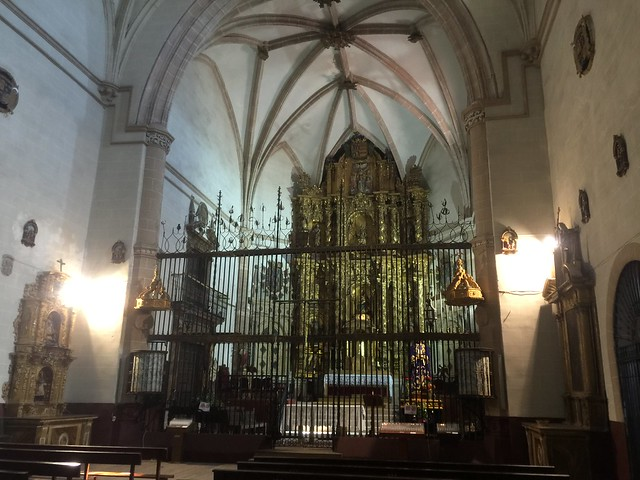 Interior de la Colegiata de Nuestra Señora de la Asunción de Medinaceli (Soria)
