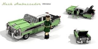 Nash Ambassador 1956 Sedan