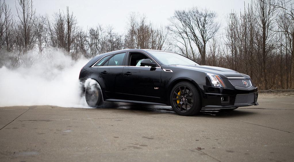 Cts V Wagon Burnout Matt Flickr