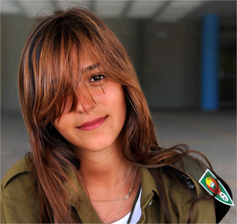 Israeli Army Girl  Danielle  Flickr-6484
