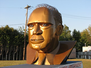 Mackinaw City, Michigan - Gerald Ford Sculpture | by Darrell Harden ... - 8633493920_085b3eafb2_n
