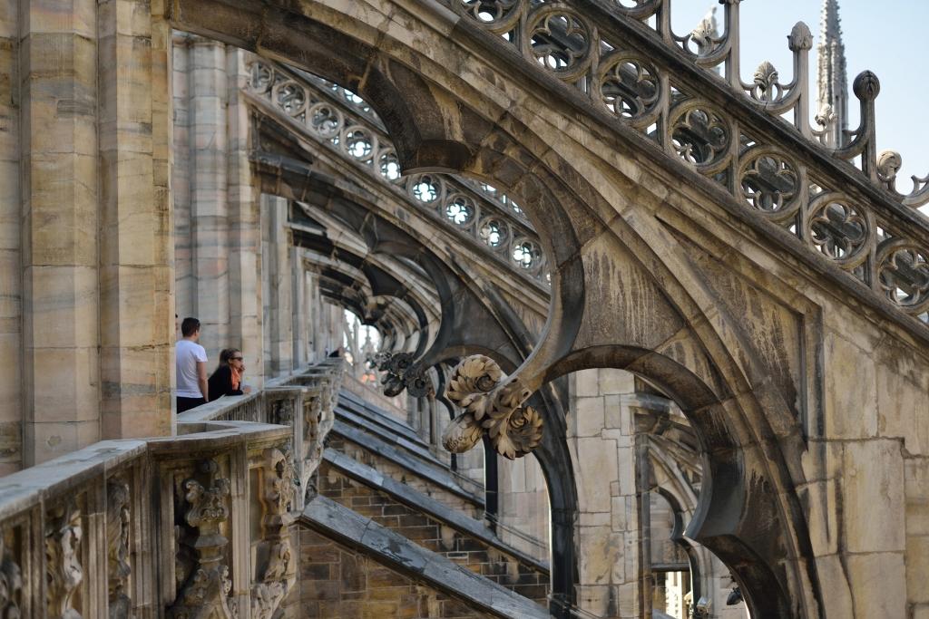 Duomo Di Milano Flying Buttress Detail