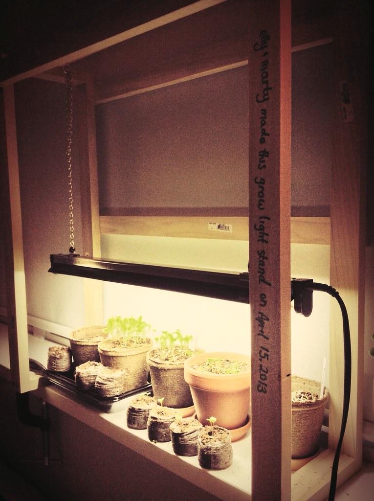 ... DIY Grow Light Stand | By Missellyrh