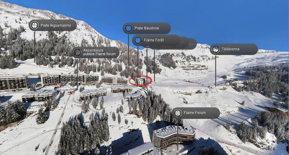 Le Panoramic Flaine Investments Apartments In Flaine