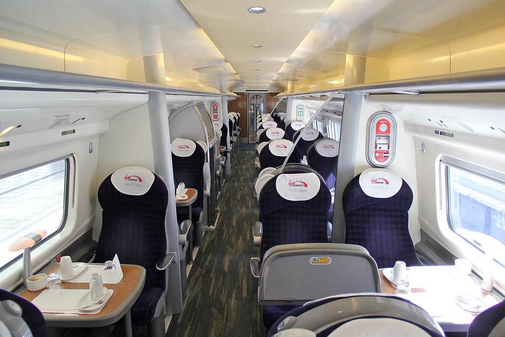 390118 Virgin Trains Pendolino Inside Car G First Class