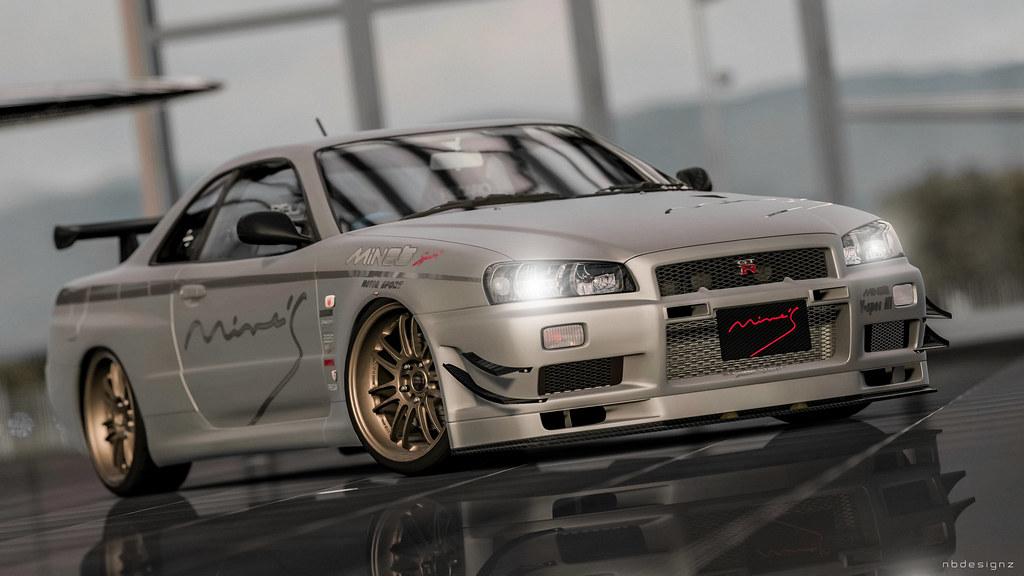 Mine S Skyline Gt R R34 Bnr N1 Gran Turismo 5 Nicolas
