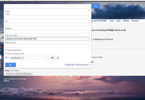 Gmail Filter | by BangDude1