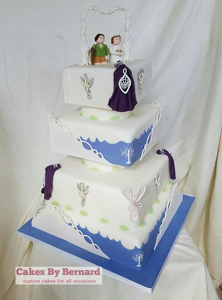 Lord of the rings themed wedding cake   Bernard McKeaveney   Flickr