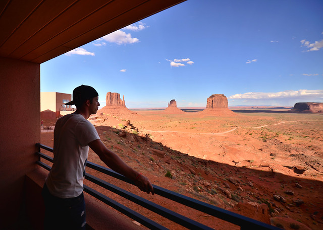 Vistas desde el hotel The View en Monument Valley