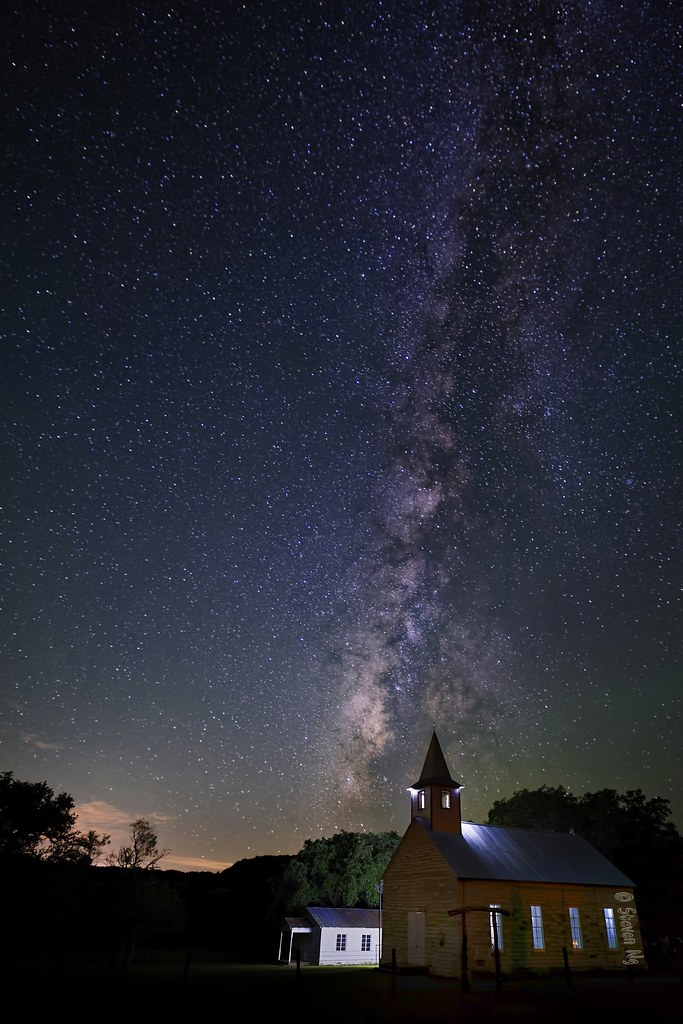Milky Way at St. John Lutheran Church