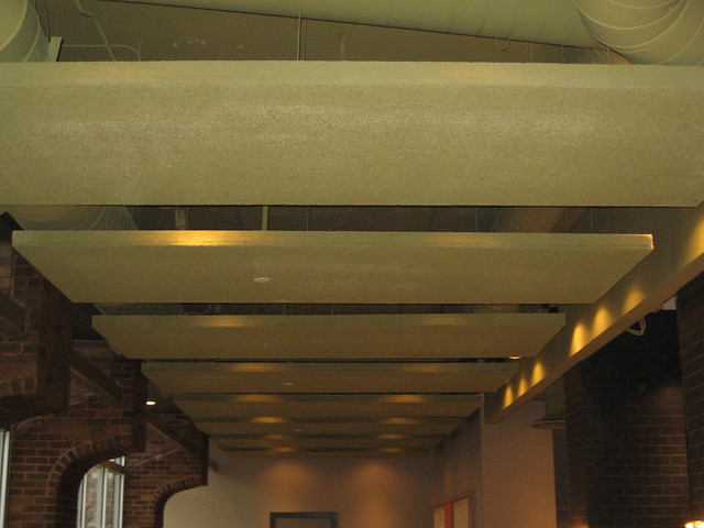 Ceiling Panels: Tectum Ceiling Panels