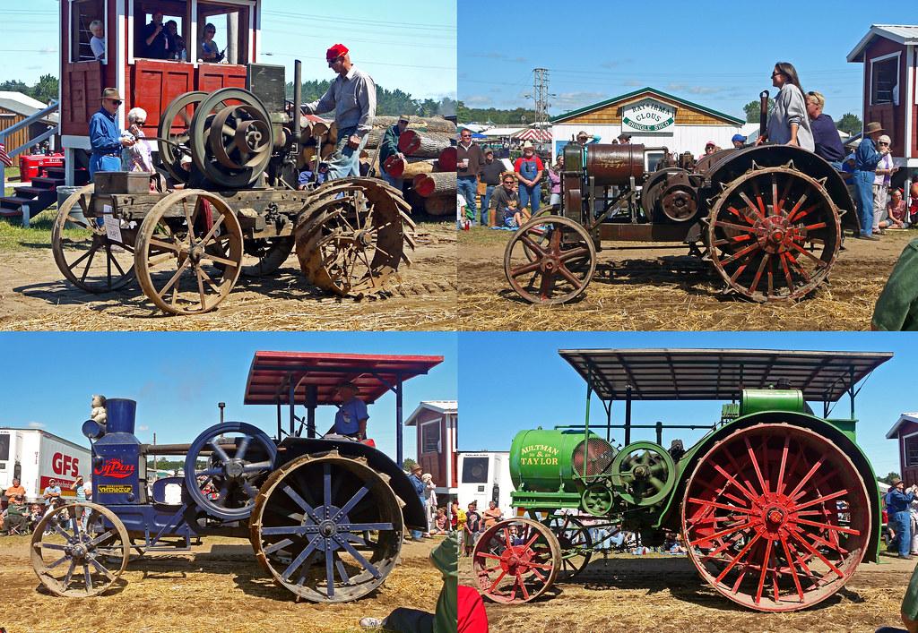 gas kerosene powered tractors   buckley  engine flickr