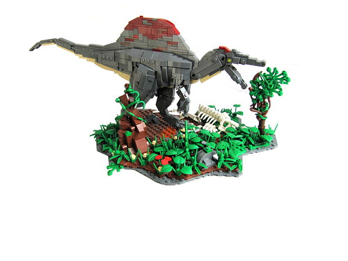 An unsuccessful hunt a quick moc i put together this - Lego dinosaures ...