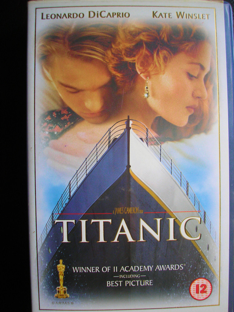 Titanic VHS Version 1997. USA. | The Most Spectacular Film ...