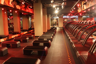 Barry's Bootcamp London UK Studio - up lighting | by Barry's_bootcamp