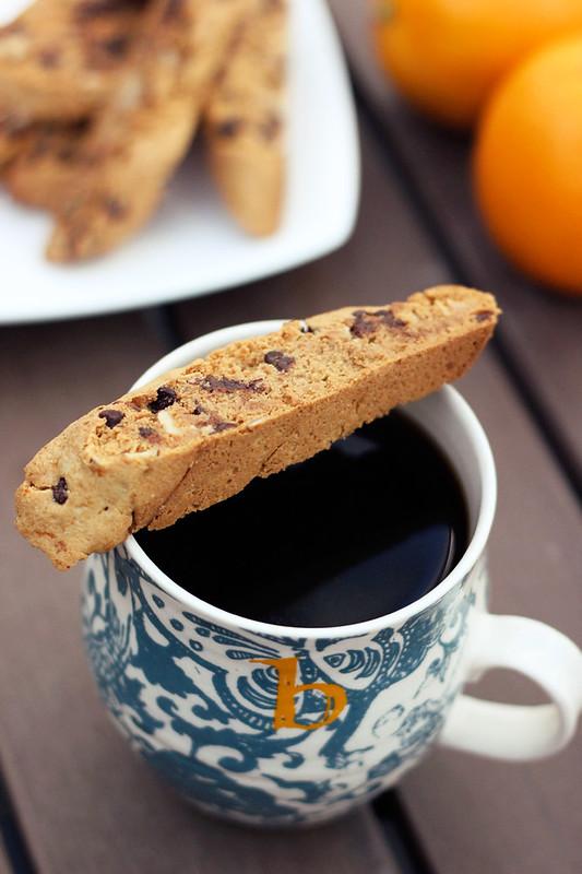 Grain-Free Orange, Almond & Dark Chocolate Biscotti - Gluten-free + Vegan