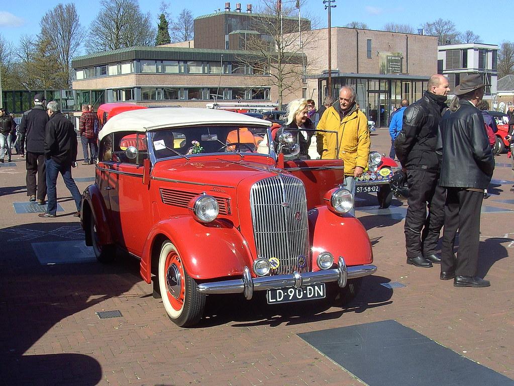 Classic Car Tax Protest | 1938 Opel Super Six Convertible | Flickr