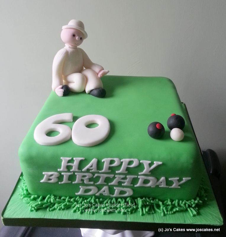 60th Birthday Bowls Bowling Themed Birthday Cake Crown Gre Flickr