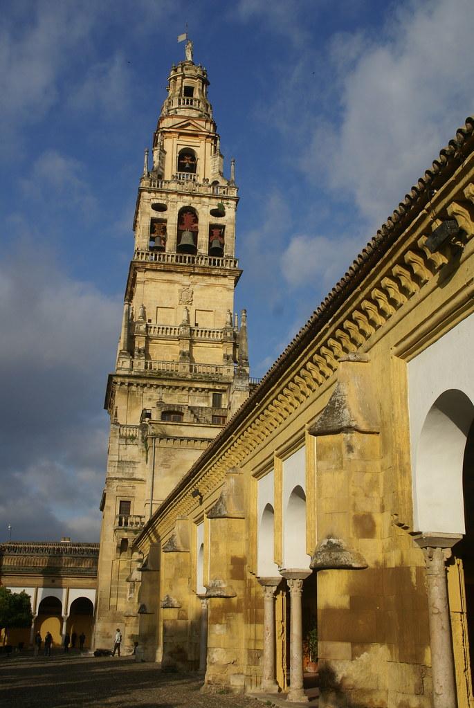 Mezquita catedral de c rdoba the minaret and the - Mezquita de cordoba visita nocturna ...