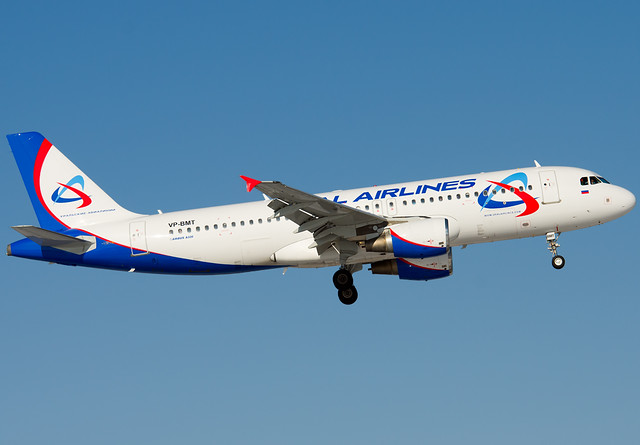 VP-BMT Ural Airlines Airbus A320-214