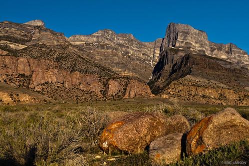 Notch Peak and boulders