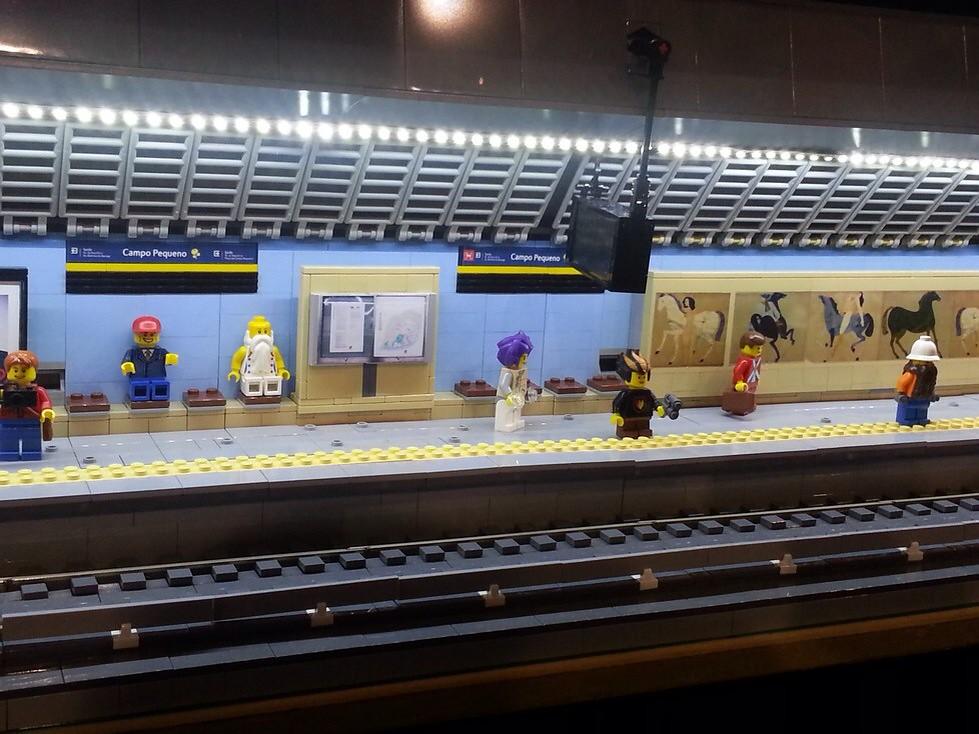 Lego Subway Station S 233 Rgio Batista Flickr