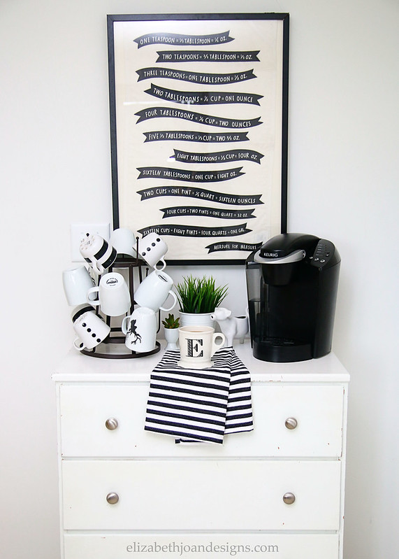 Neutral Coffee Station Dresser