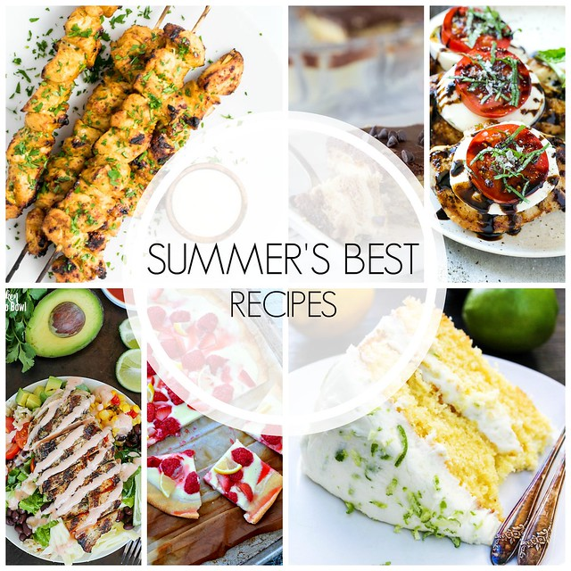 20+ Best Summer Recipes - the best recipes for summer from all your favorite bloggers! Lots of sweet treats, grilling, salads, and more!
