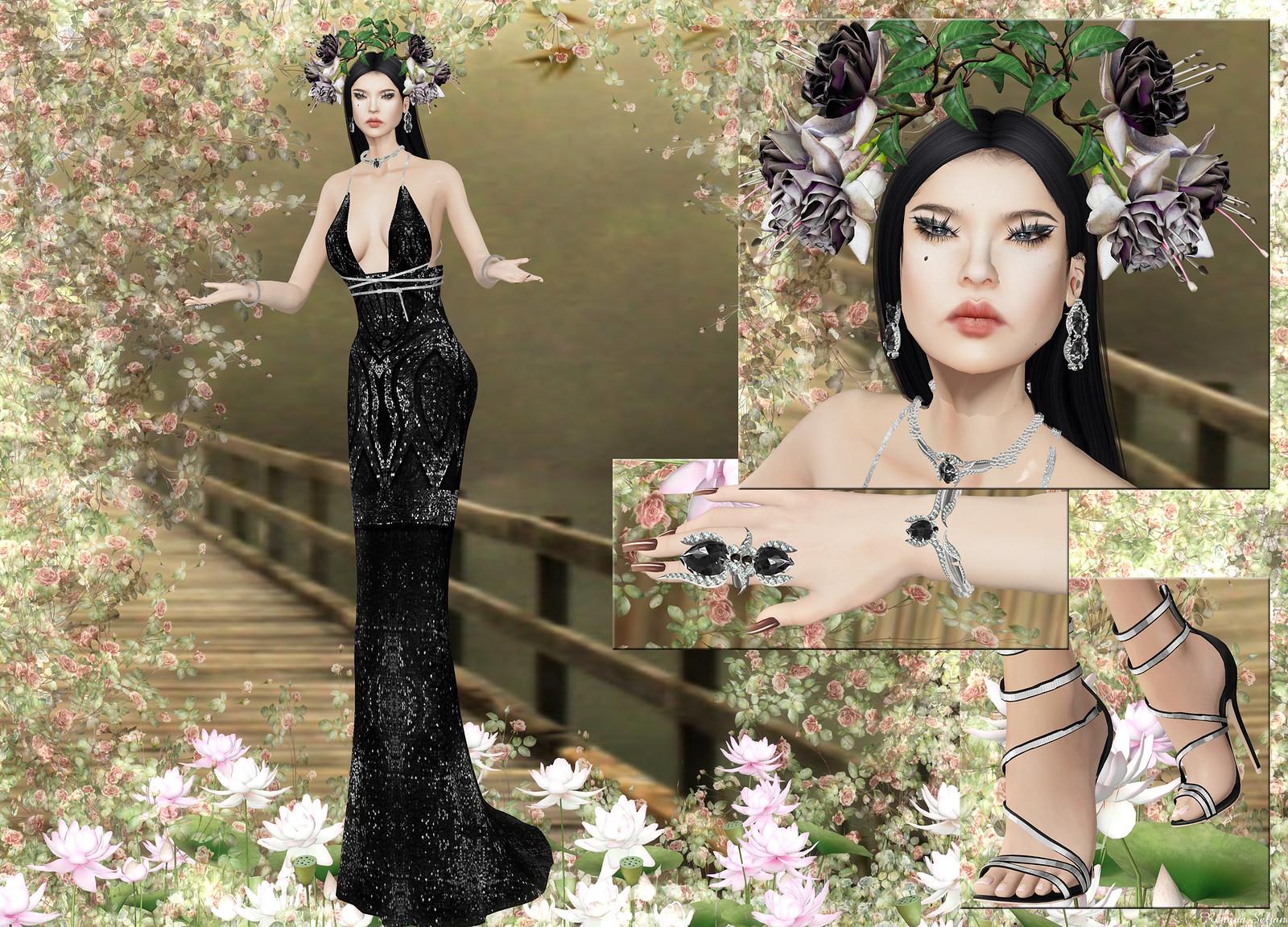Scandalize - DIAMOND DRESS