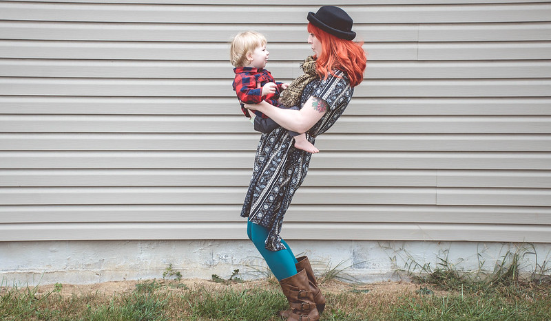What I Wore: Mommy & Baby Day