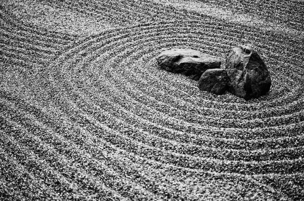 Zen Rock Garden Matt Gibson Flickr