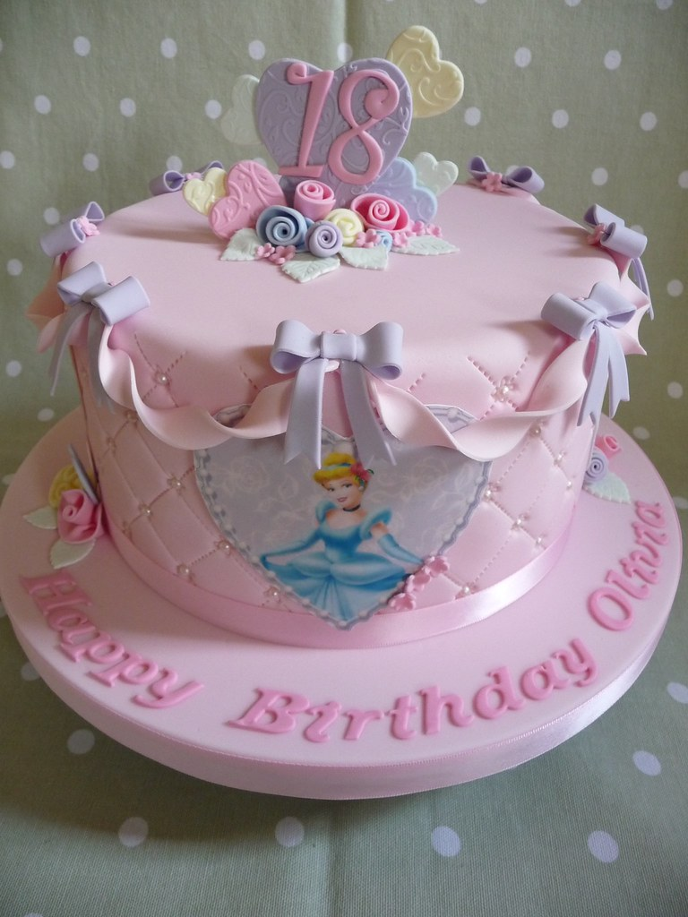 Disney Princess Cake  18th Birthday Cake .  Debbie  Flickr
